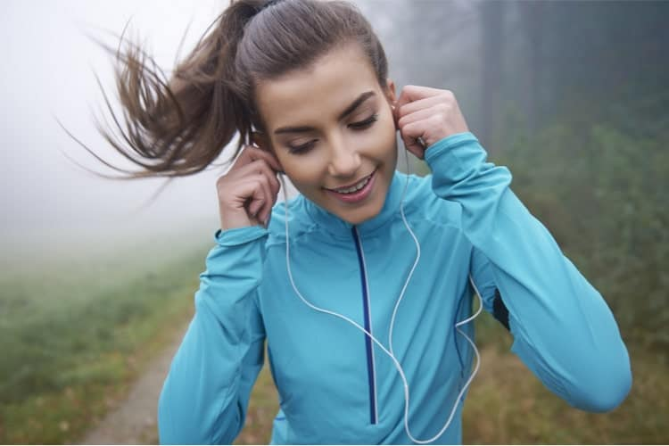 Earphones While Working Out